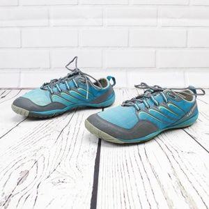 Merrell Lithe Glove Castle Rock Blue Sneakers 10